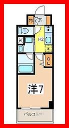 東京都墨田区横川2丁目の賃貸マンションの間取り