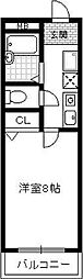 北邸館[2階]の間取り