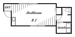 ツインコート岩川[2階]の間取り