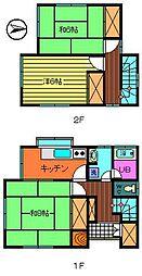 [一戸建] 茨城県古河市三和 の賃貸【/】の間取り