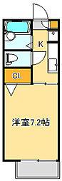 シャノンコート[1階]の間取り