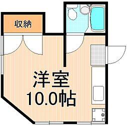 桜井マンション[201号室]の間取り