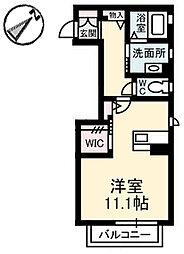 シャーメゾン・悠[2階]の間取り