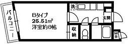 神奈川県川崎市高津区下作延7丁目の賃貸マンションの間取り