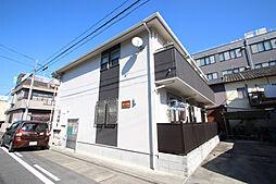 愛知県名古屋市昭和区白金1丁目の賃貸アパートの外観