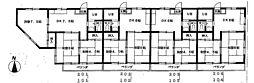 シティーコーポ新所沢[203号室号室]の間取り
