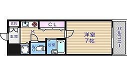 サムティ心斎橋EAST[11階]の間取り
