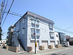 北海道札幌市東区北四十五条東15丁目の賃貸アパートの外観