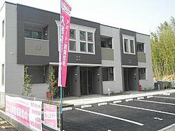 袖ケ浦市奈良輪2621番地新築アパート[202号室]の外観
