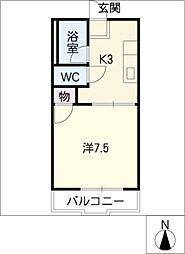 エトアール(A棟・B棟)[2階]の間取り