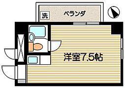 司ハイムII[506号室]の間取り