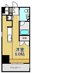 アーデンタワー南堀江[3階]の間取り