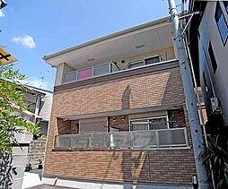 京都府京都市北区等持院中町の賃貸マンションの外観