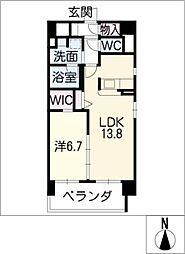 Mio・Rian[8階]の間取り