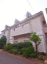 埼玉県ふじみ野市鶴ヶ岡1丁目の賃貸アパートの外観