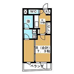 バリューIII[5階]の間取り