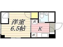 昭花園ビル[2階]の間取り