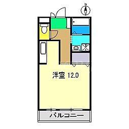 サニーコート田中[1階]の間取り