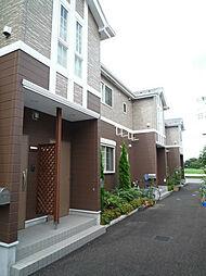 埼玉県吉川市高久1丁目の賃貸アパートの外観