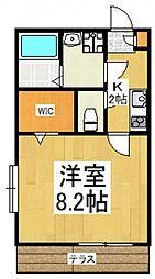 リベルタIII[1階]の間取り