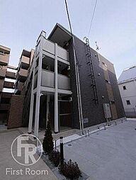 東京都大田区多摩川2丁目の賃貸アパートの外観