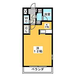 Ritz Residence C棟[4階]の間取り