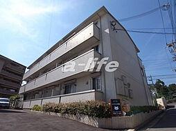 兵庫県神戸市東灘区森北町2丁目の賃貸アパートの外観