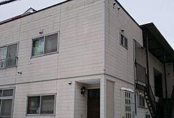北海道札幌市厚別区厚別南2丁目の賃貸アパートの外観