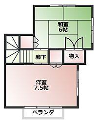 [タウンハウス] 東京都八王子市北野町 の賃貸【東京都 / 八王子市】の外観