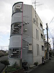 大阪府高槻市北昭和台町の賃貸マンションの外観