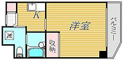 東京都江東区北砂5丁目の賃貸マンションの間取り