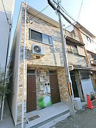 大阪府大阪市生野区勝山北4丁目の賃貸アパートの外観
