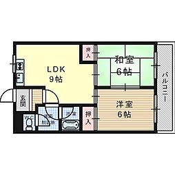 STマンションI[3階]の間取り