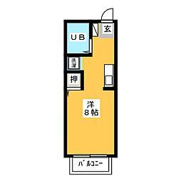 ボナールハウス[2階]の間取り
