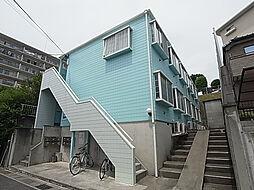千葉県松戸市小金の賃貸アパートの外観