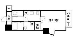 レジデンスM姫路[401号室]の間取り