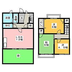 タウンハウス余合[2階]の間取り