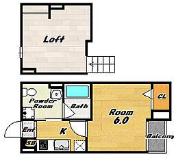 COLOR(カラー)[2階]の間取り