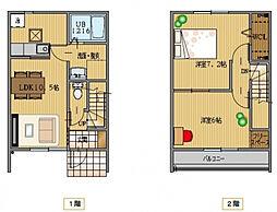 [一戸建] 茨城県稲敷郡阿見町中央3 の賃貸【/】の間取り