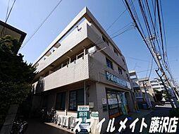 神奈川県藤沢市鵠沼海岸6丁目の賃貸マンションの外観