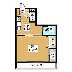 豊成107番館[3階]の間取り