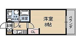 SERENITE新大阪[12階]の間取り