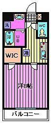 埼玉県さいたま市浦和区岸町7丁目の賃貸マンションの間取り