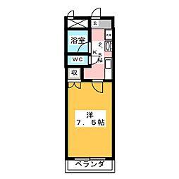 M−FLAT[1階]の間取り