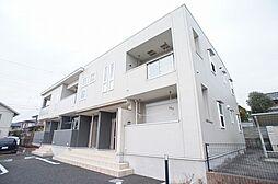 茨城県日立市田尻町4丁目の賃貸アパートの外観