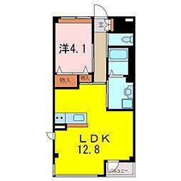 仮)S・M様賃貸マンション新築[3階]の間取り
