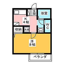 Progress Maki[1階]の間取り
