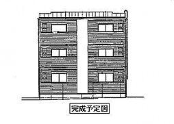 ドミール関空弐番館[3階]の外観