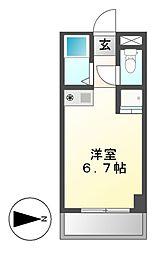 ドール六番町[9階]の間取り
