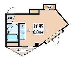 メゾン御供田[3階]の間取り